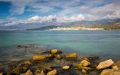 Saint Florent in northern Corsica — Stock Photo