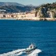 Pilot boat heading back to Nice harbour — Stock Photo #61908255
