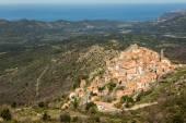 Village of Spelonato in Balagne region of Corsica — Stock Photo