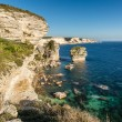������, ������: White cliffs stacks and Mediterranean at Bonifacio in Corsica