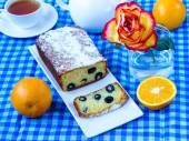 Cake with olives — Stock Photo