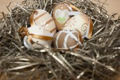 Easter nest — Stok fotoğraf