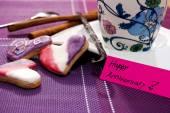 Café y galletas — Foto de Stock