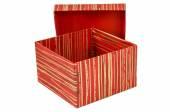 Birthday, box, celebrate, celebration, christmas, christmas gift, gift, giftbox, isolated — Stock Photo