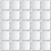 Stapled papers seamless pattern — Vector de stock