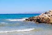 Seaside in Crete — Stock Photo