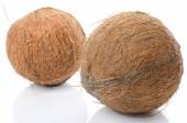 Whole coconuts — Stock Photo