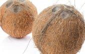 Whole coconuts — Stock Photo