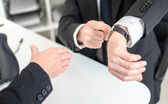 Respect for working hours — Stock Photo