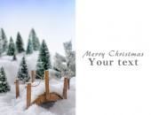 Christmas card — Stockfoto