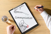 Communication concept — Stock Photo