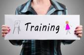 Koncepcja szkolenia — Zdjęcie stockowe