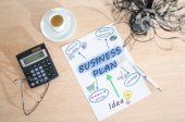 Business plan — Stockfoto