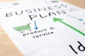 Businessplan — Stockfoto