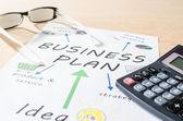 Business plan — Stock fotografie