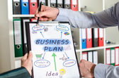 Plano de negócios — Fotografia Stock