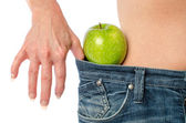Concept of weight loss — Stock Photo