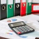 Accounting desktop — Stock Photo #59830027