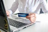 Concetto dello shopping online — Foto Stock