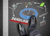 Deadline concept — ストック写真