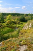 Ustinovskii Canyon, Southern Urals — Stock Photo