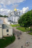 St. Sophia Cathedral from height — Foto Stock