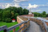 Combat course of the Novgorod Kremlin — Stock Photo