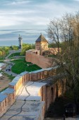 Combat course of the Novgorod Kremlin — Stock Photo