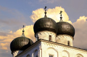 Cathedral of the Nativity of our Lady, Veliky Novgorod — Stock Photo