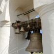 Bells in the span of the belfry of St. Sophia Cathedral — Stock Photo #58962145