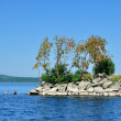 Gull Island on Lake Turgoyak, Southern Urals — Stock Photo #58965639