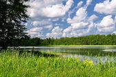 Valdai lake — Stock Photo