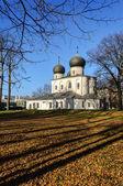 Domkyrkan för kristi födelse av vår dam, veliky novgorod — Stockfoto
