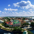 Vyborg. View of the Old City from the observation deck of the Vyborg Castle — Stock Photo #59221563