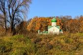 Church of St. John the Evangelist on Vitka river — Stock Photo