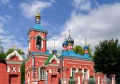 Holy Trinity Church in Miass, Chelyabinsk region — Photo