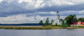 Church of Exaltation of the Cross at Lake Seliger — Foto Stock