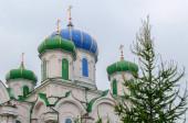 Cathedral of the Nativity in Kyshtym, Chelyabinsk region — Stock Photo