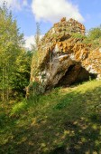 Cave in Ustinovskii Canyon, Southern Urals — Stock Photo