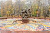 Fountain Sadko in Veliky Novgorod — Stock Photo