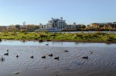 Novgorod Drama Theatre named after F.M. Dostoevsky — Foto de Stock