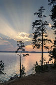 Lake Irtyash, Southern Urals — Stock Photo