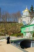 Holy Dormition Pskov-Caves Monastery — Stock Photo