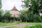 "The pinnacle of the 18th century on the territory of the manor Demidov's ""White House"" in Kishtim — Stock Photo"