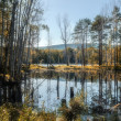 Постер, плакат: At the St Faith Island in Southern Urals