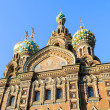 Fragment of cathedral of Our Saviour on Spilled Blood, St. Petersburg — Stock Photo #68403953