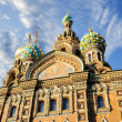 Fragment of cathedral of Our Saviour on Spilled Blood, St. Petersburg — Stock Photo #68403963