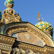 Fragment of cathedral of Our Saviour on Spilled Blood, St. Petersburg — Stock Photo #68404023