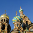 Fragment of cathedral of Our Saviour on Spilled Blood, St. Petersburg — Stock Photo #68404037