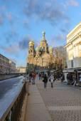 Church of the Resurrection (Savior on Spilled Blood). Saint Petersburg — Foto de Stock